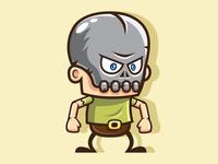 Skull Boy: Running & Jumping Game Character Sprite Sheets