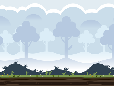 Shady Forest Game Background