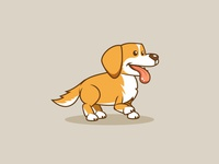 Goldie The Dog Golden Retriever Game Character Sprites