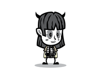 Gothic or Emo Girl