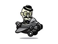 Gentleman Pilot - Game Asset Sprites