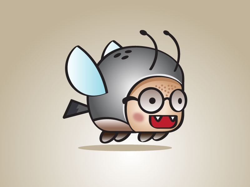 Shooter Beetle Game Character Sprites art 2d design asset game cute bird flappy shooting shoot beetle shooter