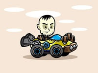 Jack The Racer Game Character Sprites