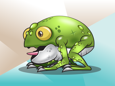 Toad Monster | Frog Game Character Sprites