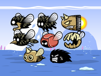2D Game Asset | Flappy Monster Sprites