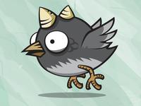 Thorn Bird Game Asset