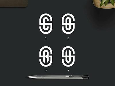 SC,SO,SR,SV Monogram europe texas logos mark branding vector logomark icon lettering logo monogram