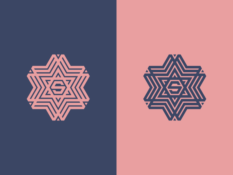 LETTER S logos texas mark branding vector icon logomark lettering logo monogram