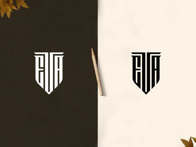 EVA florida newyork europe texas typography design illustration branding logos vector logomark lettering logo monogram
