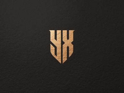YX europe typography texas logos branding vector logomark lettering logo monogram
