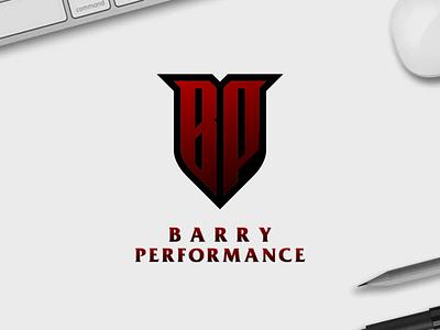 Barry Performance florida logotype typography europe texas branding vector logomark lettering logo monogram