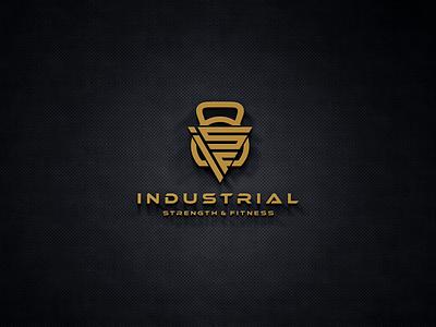 Industrial Strength Fitness miami losangeles belgium sydney australia asia europe texas design vector logomark lettering logo monogram
