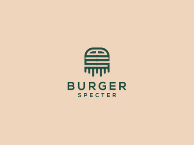 Burger Specter austin texas canada illustrator app illustration europe texas mark branding vector lettering logo monogram