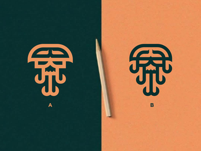 OctoSkull canada skull octopus europe texas branding logomark lettering logo monogram