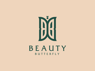BEAUTY BUTTERFLY belgium australia netherlands logos europe texas branding icon vector logomark lettering logo monogram