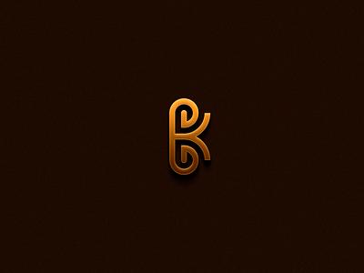 BK MONOGRAM newyork kwait dubai newzeland losangles australia canada florida ui illustration design icon branding vector logomark lettering logo monogram