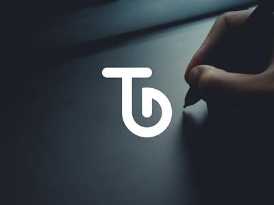 TD logotype logos mark ux typography design illustrator vector logomark icon monogram