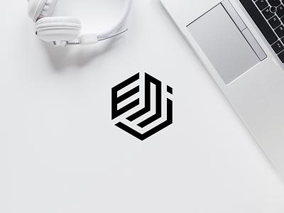 ENJ new york texas america dubai singapore new zealand england europe asia branding company logo vector logomark icon lettering logo monogram