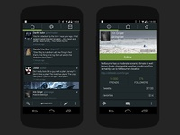 Android twitter client Robird