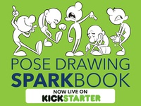 Pose Drawing Sparkbook