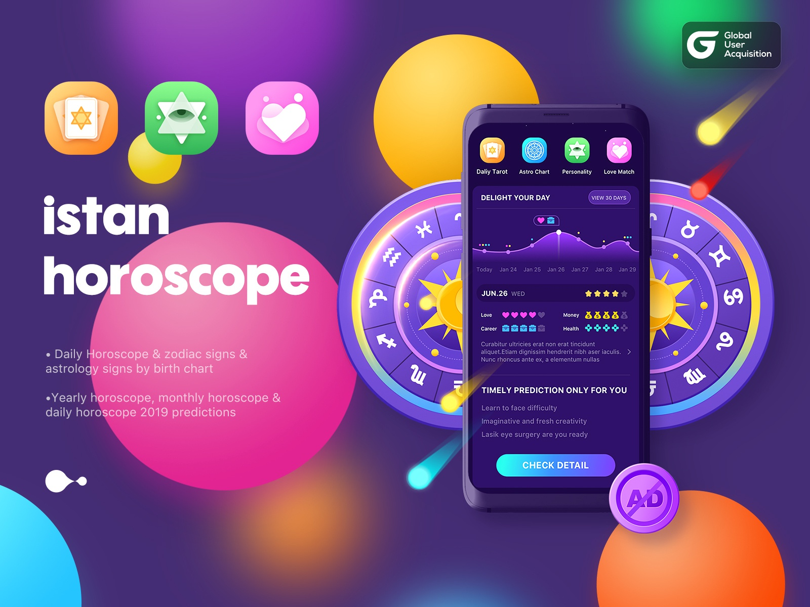 istan Horoscope by MARS-9 for Panda Plus on Dribbble