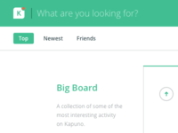 Kapuno - Search & Navigation