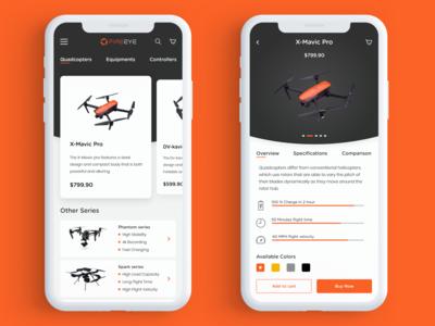 Drone App Concept