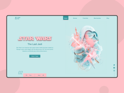 Movie Era (Landing Page Concept)