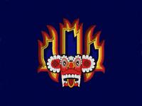 Sri lankan devil mask