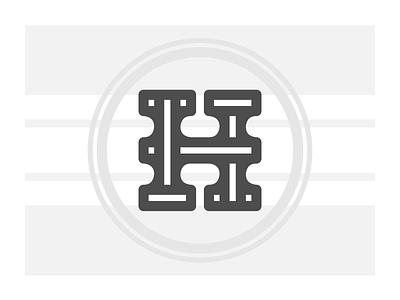 H Drop Cap type design handlettering illustration typography lettering