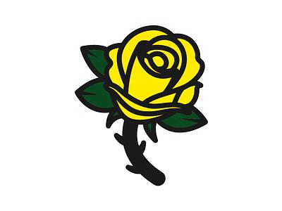 Rosy design logo illustration