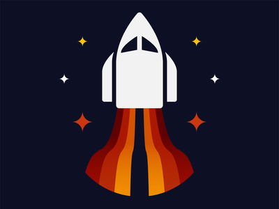 Spaced out astronaut astro astronomy spaceship space exploration space design space art ship space icon vector mark logo design icons logo illustration design