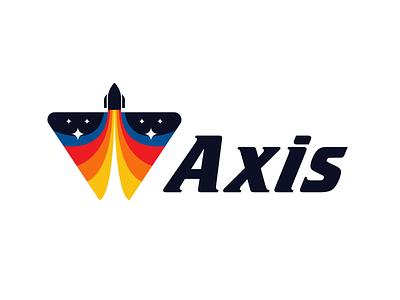Axis daily logo daily logo challenge space exploration astrology astro rocket space branding design vector mark logo design icons branding logo illustration design dailylogochallange