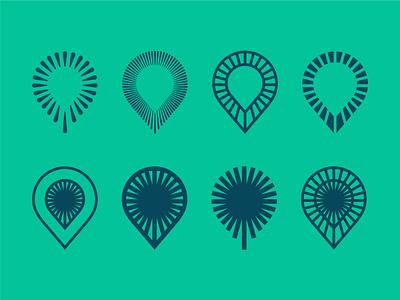 Icon Variations symbol icon artwork icon vector mark logo design icons branding logo illustration design