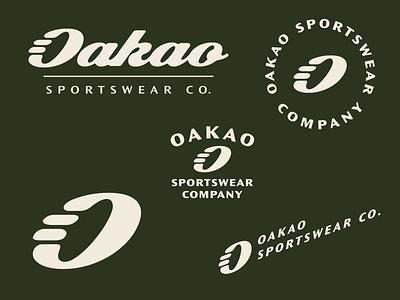 Oakao Sportswear Co. oakao sportswear sports sport daily logo challenge dailylogochallange daily logo type symbol typography vector mark logo design branding logo design