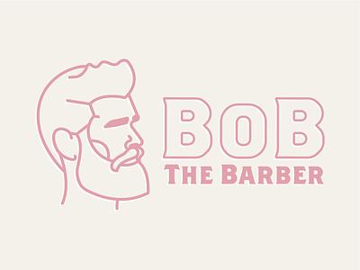Bob the Barber brand identity dailylogochallenge logo design beard barbershop barber haircut daily logo challenge daily logo design daily logo branding and identity branding concept branding design branding logo symbol vector mark illustration design