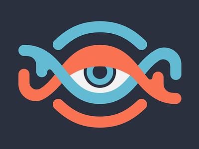 Design Doodle, DNA + Eye vector illustration vector art lineart dna eye doodling design doodle doodle symbol mark vector illustration design