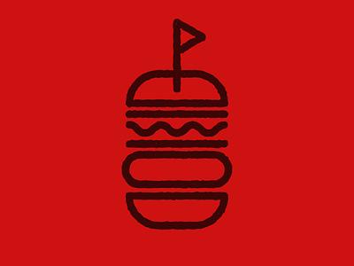 One Bun branding and identity branding concept branding design dailylogochallenge logo a day burgers burger logo bun burger icon daily logo challenge daily logo logo design branding logo symbol mark vector illustration design