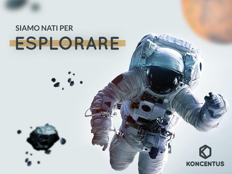Siamo nati per esplorare composition graphic design visual design illustration branding