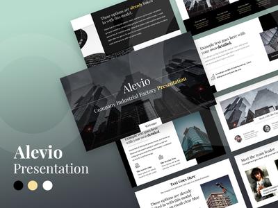 Alevio - Industries Creative Template  Presentation