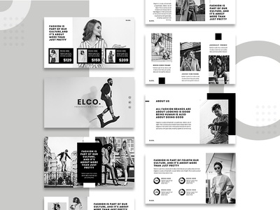 FASHION Presentation Template