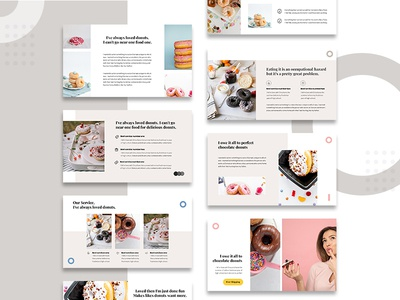 Creative Desserts Presentation Template