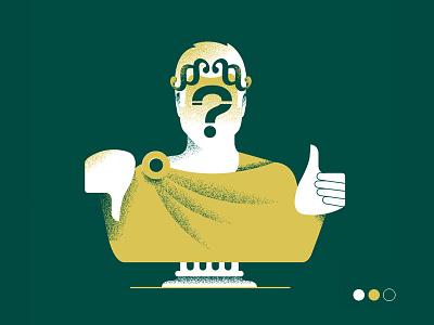 Decision making on Tax policy - cover story (TP '21) conceptual design graphic design grain editorial illustration ill