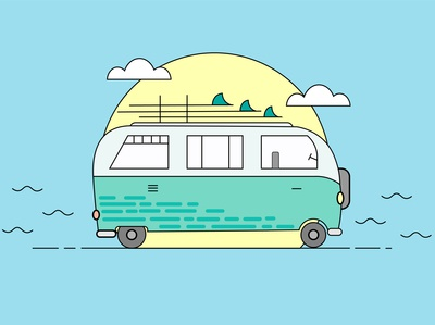 hippi bus