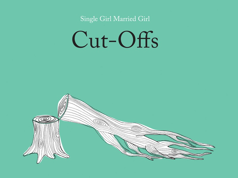 Album Cover cut offs single girl married girl music tree illustration