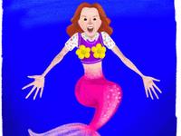 Mermaid Kimmy Schmidt