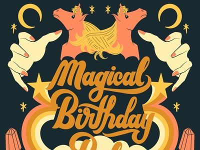 Magical Birthday Babe - Color Variation