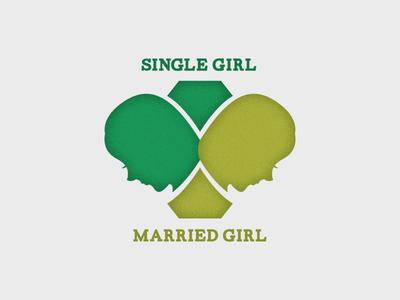 Single Girl Married Girl Logo