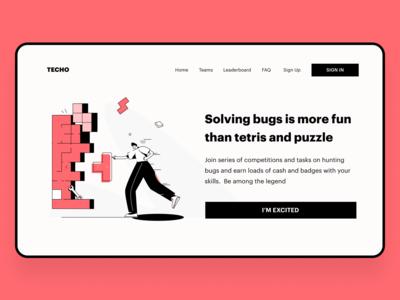 Solving bugs like tetris for coder