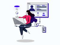 Building Decentralized Application Illustration